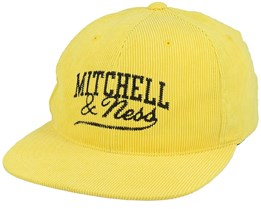 Own Brand Summer Cord Yellow Snapback - Mitchell & Ness