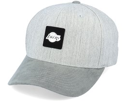 LA Lakers Monotone Heather Grey 110 Adjustable - Mitchell & Ness