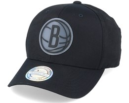 Brooklyn Nets Revolve Black 110 Adjustable - Mitchell & Ness