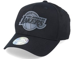 LA Lakers Revolve Black 110 Adjustable - Mitchell & Ness