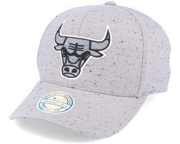 Chicago Bulls Speck Grey 110 Adjustable - Mitchell & Ness