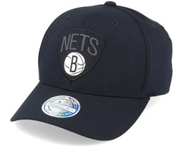 Brooklyn Nets Siege Black 110 Adjustable - Mitchell & Ness