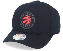 Toronto Raptors Siege Black 110 Adjustable - Mitchell & Ness