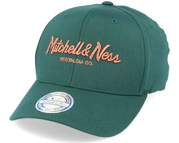 Own Brand Metallic Pinscript Forest/Copper 110 Adjustable - Mitchell & Ness