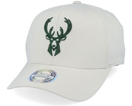 Milwaukee Bucks Stone/Forest 110 Adjustable - Mitchell & Ness