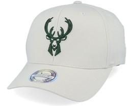 Milwaukee Bucks Stone/Forest 110 Adjustable - Mitchell & Ness