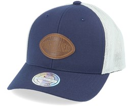 Own Brand Touchdown Navy/White 110 Trucker - Mitchell & Ness