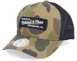 Own Brand Duck Camo/Black 110 Trucker - Mitchell & Ness
