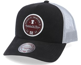 Own Brand 3 Tone Black/White Trucker - Mitchell & Ness