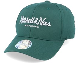 Own Brand Metallic Pinscript Forest/Silver 110 Adjustable - Mitchell & Ness