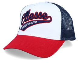 Track White/Red/Navy Trucker - Ellesse