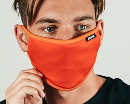Red & Orange Face Mask - Hype