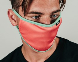 Pink & Blue Face Mask - Hype