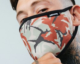 Thin Camo Face Mask - Hype