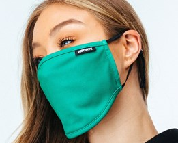 Adjustable Forest Green Face Mask - Hype