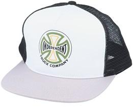Converge Meshback Cap Light Grey/Black Trucker - Independent