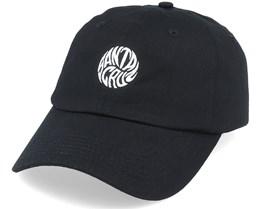 Mako Dot Cap Black Dad Cap - Santa Cruz