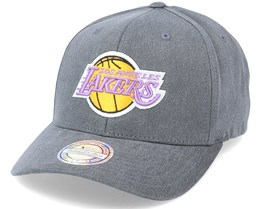 LA Lakers Washout Snapback Black 110 Adjustable - Mitchell & Ness