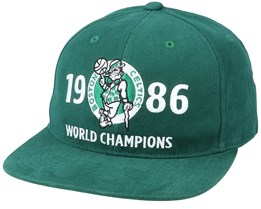 Boston Celtics Finals History Green Snapback - Mitchell & Ness