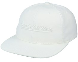 Own Brand Tonal Script Deadstock Off White Snapback - Mitchell & Ness