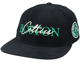 Boston Celtics Zone Deadstock Black Snapback - Mitchell & Ness