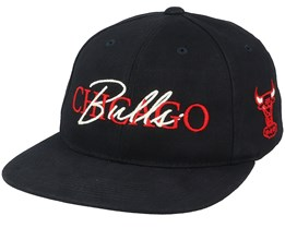 Chicago Bulls Zone Deadstock Black Snapback - Mitchell & Ness