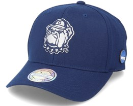 Georgetown Hoyas NCAA Pin Logo Navy 110 Adjustable - Mitchell & Ness