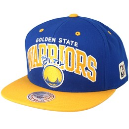 the latest 5d816 f4626 Mitchell   Ness Golden State Warriors Team Arch Blue Yellow Snapback -  Mitchell   Ness  26.99  29.99