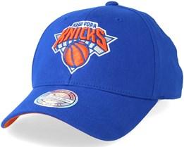 New York Knicks Team Arch Low Pro Burgundy 110 Adjustable - Mitchell & Ness
