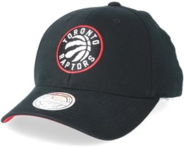Toronto Raptors Team Arch Low Pro Black 110 Adjustable - Mitchell & Ness