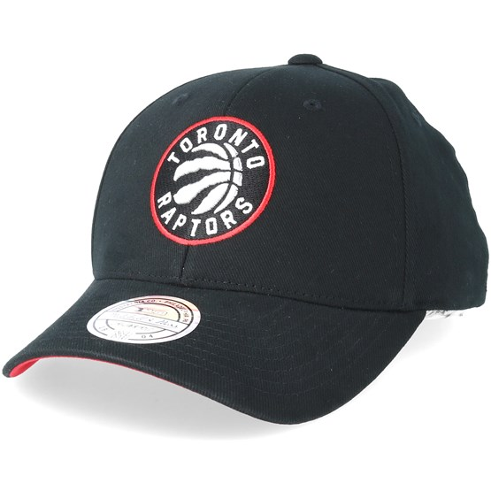 355cd634 Toronto Raptors Team Arch Low Pro Black 110 Adjustable - Mitchell & Ness  caps - Hatstorecanada.com