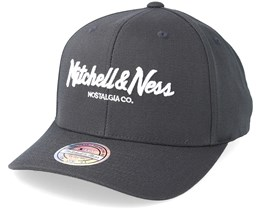 Own Brand Pinscript High Crown Charcoal 110 Adjustable - Mitchell & Ness