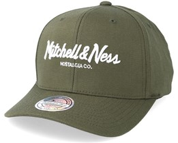 Own Brand Pinscript High Crown Hiking Green 110 Adjustable - Mitchell & Ness