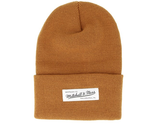 1775e3365eeab Own Brand Nostalgia Knit Satchel Cuff - Mitchell   Ness beanies -  Hatstoreworld.com
