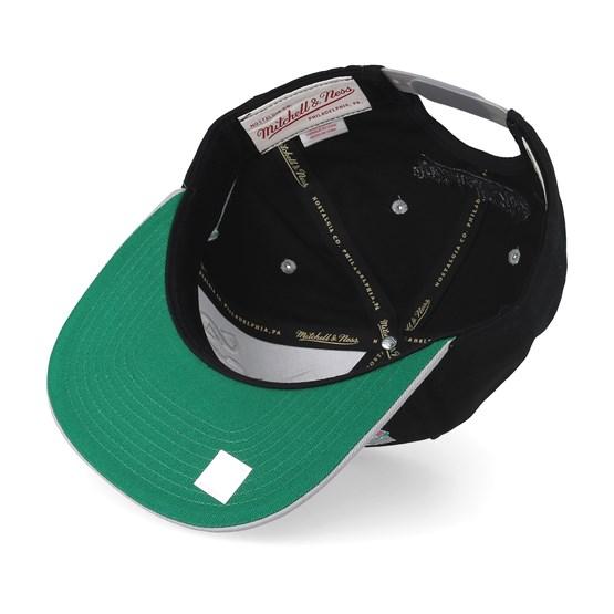 finest selection 91220 912e6 San Antonio Spurs Horizon Black Grey Snapback - Mitchell   Ness caps -  Hatstoreworld.com