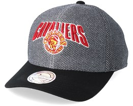 Cleveland Cavaliers Flashback Charcoal/Black 110 Adjustable - Mitchell & Ness