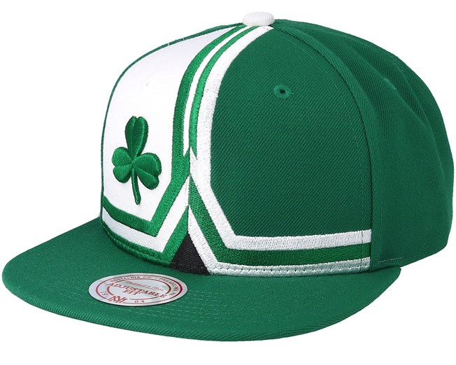 8c78fba62c8 Boston Celtics Short Split Green White Snapback - Mitchell   Ness caps -  Hatstoreaustralia.com