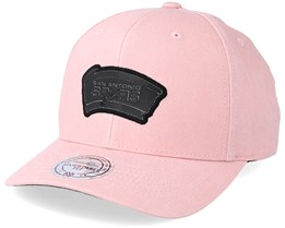 San Antonio Spurs Hwc Washed Heather Pink Adjustable - Mitchell & Ness