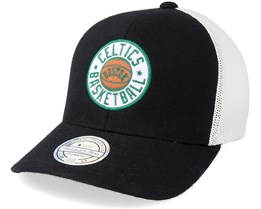 Boston Celtics Hwc Patch Black/White 110 Adjustable - Mitchell & Ness
