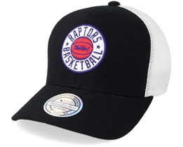 Toronto Raptors Hwc Patch Black White 110 Adjustable - Mitchell   Ness 48d41767c81