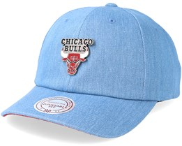 Chicago Bulls Pin Denim Adjustable - Mitchell & Ness