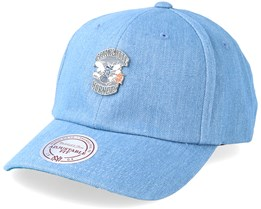 Charlotte Hornets Hwc Pin Strapback Denim Adjustable - Mitchell & Ness