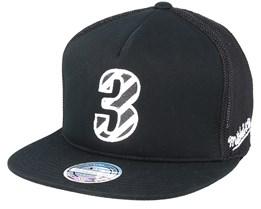 Philadelphia 76ers Hwc N&N Black 110 Trucker - Mitchell & Ness
