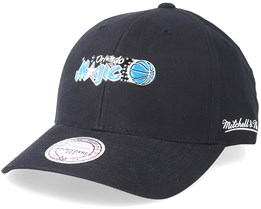 Orlando Magic Taped Black Adjustable - Mitchell & Ness