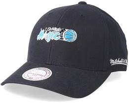 Orlando Magic Taped Black Adjustable - Mitchell & Ness