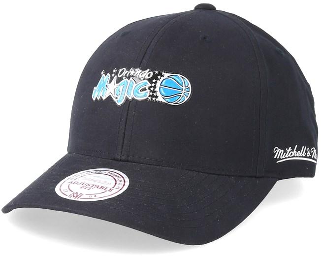 3cee501aa Orlando Magic Taped Black Adjustable - Mitchell & Ness caps ...