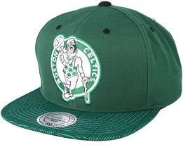 Boston Celtics Diamond Green Snapback - Mitchell & Ness
