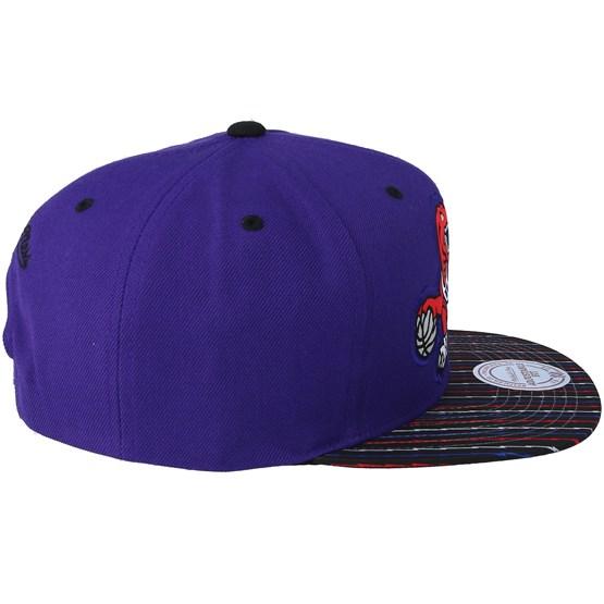 quality design 6cd40 7468f Toronto Raptors Diamond Purple Snapback - Mitchell   Ness cap -  Hatstore.co.in