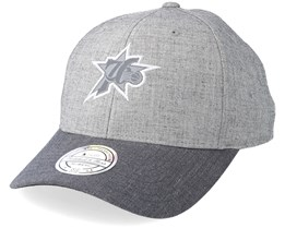 Philadelphia 76ers Beam Heather Grey 110 Adjustable - Mitchell & Ness