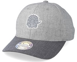 Toronto Raptors Beam Heather Grey 110 Adjustable - Mitchell & Ness